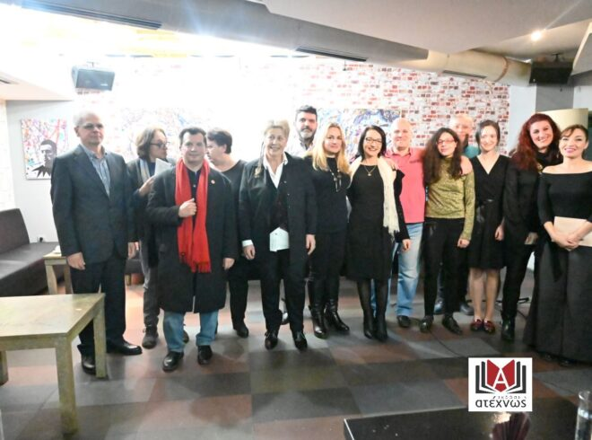 Στο κατάμεστο και φιλόξενο Polis Art Cafe παρουσιάστηκαν τα «Γράμματα της ποίησης»